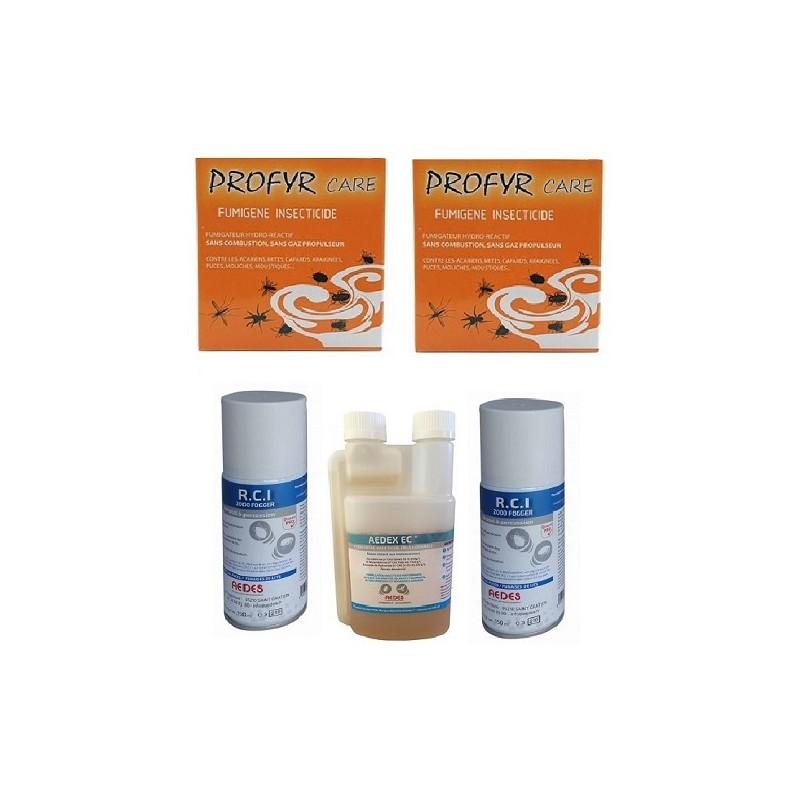 Pack complet traitement punaises de lit