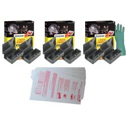 Pack Anti Souris box M : pour la dératisation d'un appartement